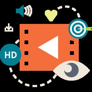 Videography icon.